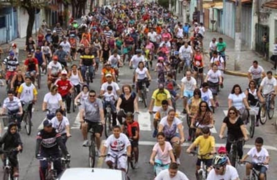 Bairro Cidade Salvador realiza passeio ciclístico no domingo