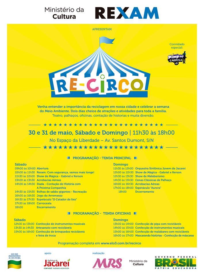 Jacareí recebe 1ª edição do Re-Circo