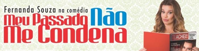 """Fernanda Souza apresenta comédia """"Meu passado não me condena"""" em Jacareí"""
