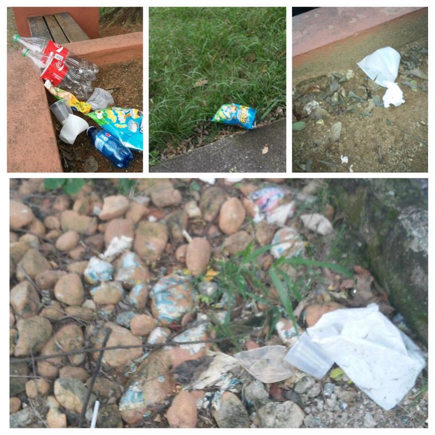 Moradora do Jardim Paulistano reclama de lixo nas ruas
