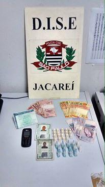 Dois jovens de 19 anos são presos por tráfico pela Dise Jacareí