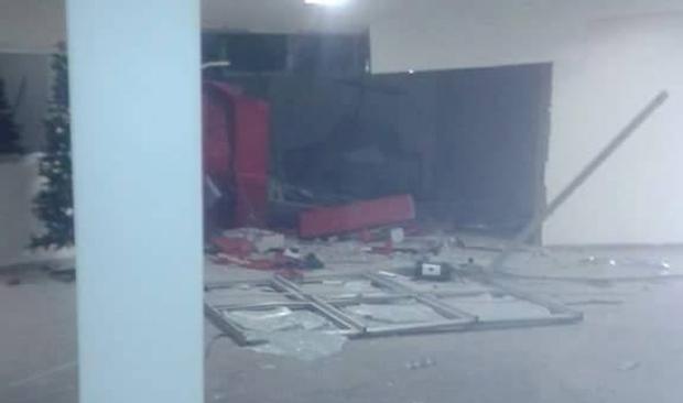 Quadrilha explode caixas eletrônicos dentro do Hospital São Francisco