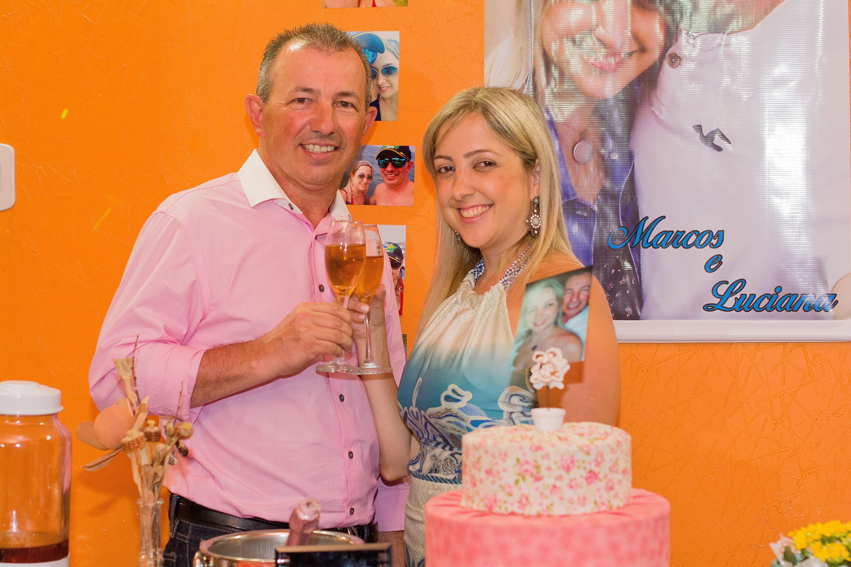 Noivado Marcos Vinicius Neves e Luciana Oliveira