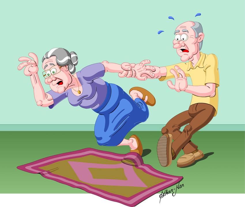 Risco de quedas na velhice