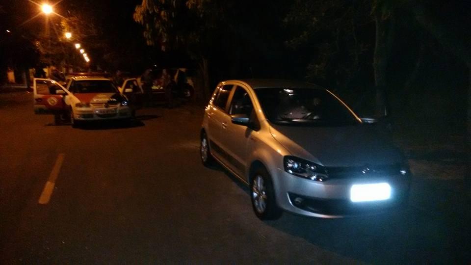 Quadrilha é detida após roubar veículo em Jacareí