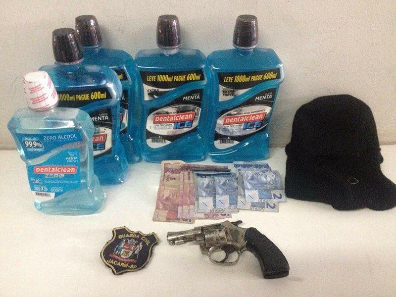 Dupla que roubou produtos contra mau hálito em farmácia é presa em Jacareí