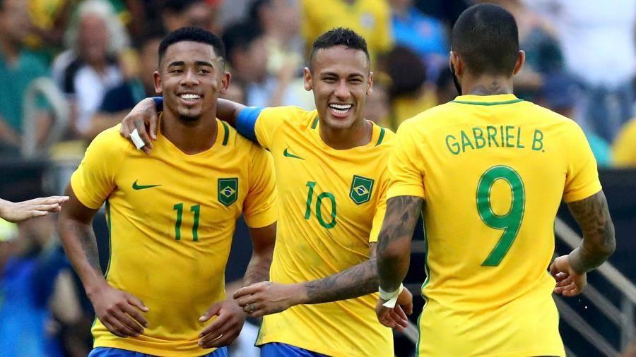 Brasil atropela Honduras e está a um passo do ouro olímpico