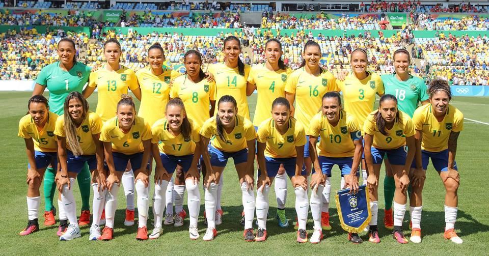 Olimpíadas: Meninas do futebol feminino chegam a São Paulo para a disputa do Bronze