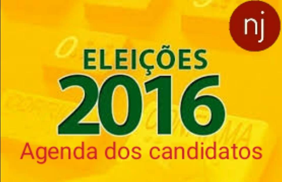 Confira a agenda dos candidatos nesta quarta-feira