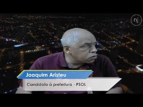 Entrevista com o candidato à prefeitura Joaquim Aristeu do PSOL