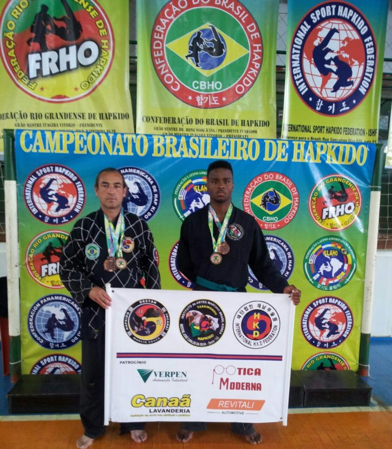 Atletas do Hapkido de Jacareí se destacam em Campeonato Brasileiro