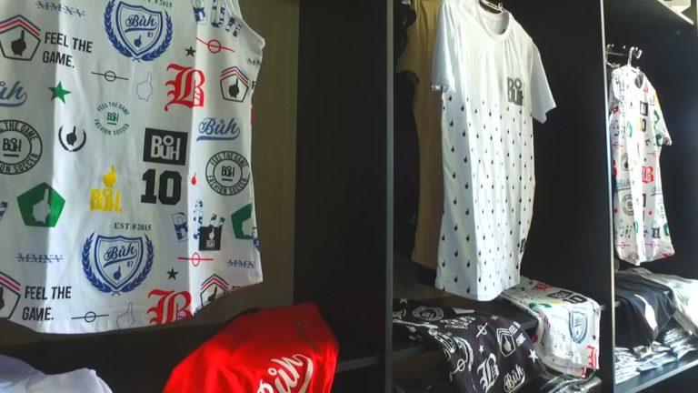 Jacareí ganha loja de roupa para quem tem estilo de jogador de futebol