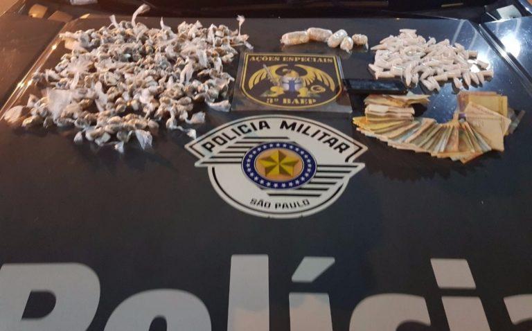 Polícia prende homem por tráfico de drogas e corrupção ativa em Jacareí