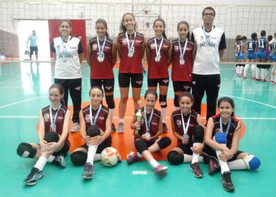 Jacareí é vice-campeã da Liga Regional de Voleibol