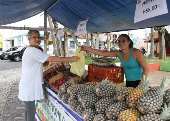 Ponto da Economia inicia venda de frutas natalinas