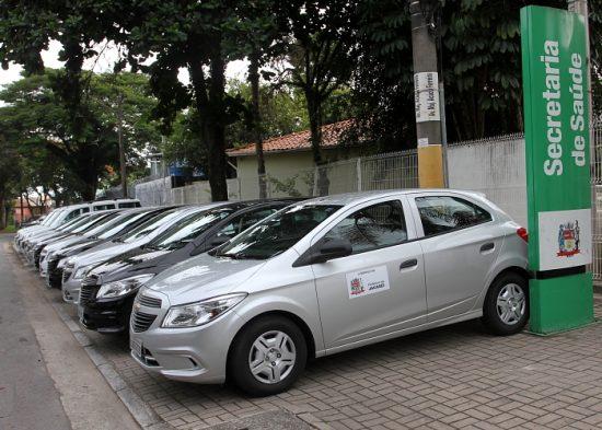 Jacareí recebe novos veículos para compor a frota da Secretaria de Saúde