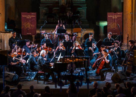 Bachiana Filarmônica se apresenta no primeiro dia de circuito