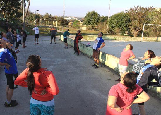 Aulas de ginástica chegam ao Parque Califórnia, Jd. Jacinto e Didinha