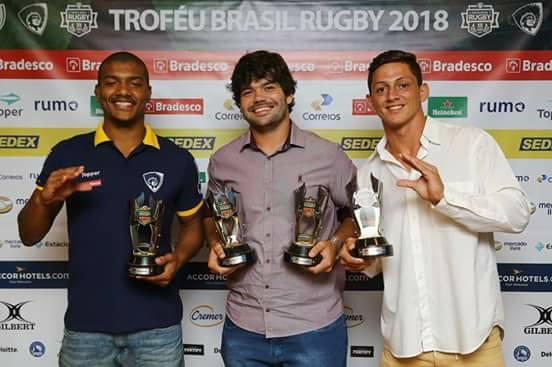 Jacareí Rugby vence quatro prêmios em sete indicações no Troféu Brasil Rugby 2017