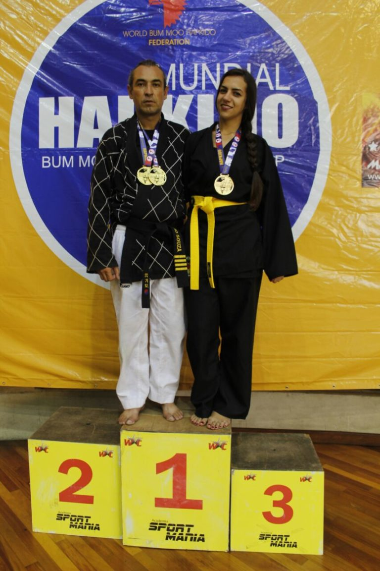 Atleta de Jacareí é campeã em Mundial Hapkido