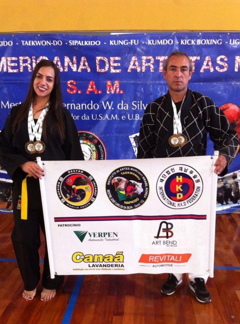 Atleta de Jacareí é bicampeão em evento de Hapkido em Curitiba