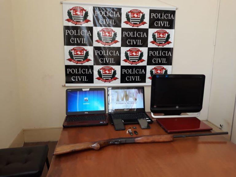 Polícia Civil de Jacareí prende pedófilo