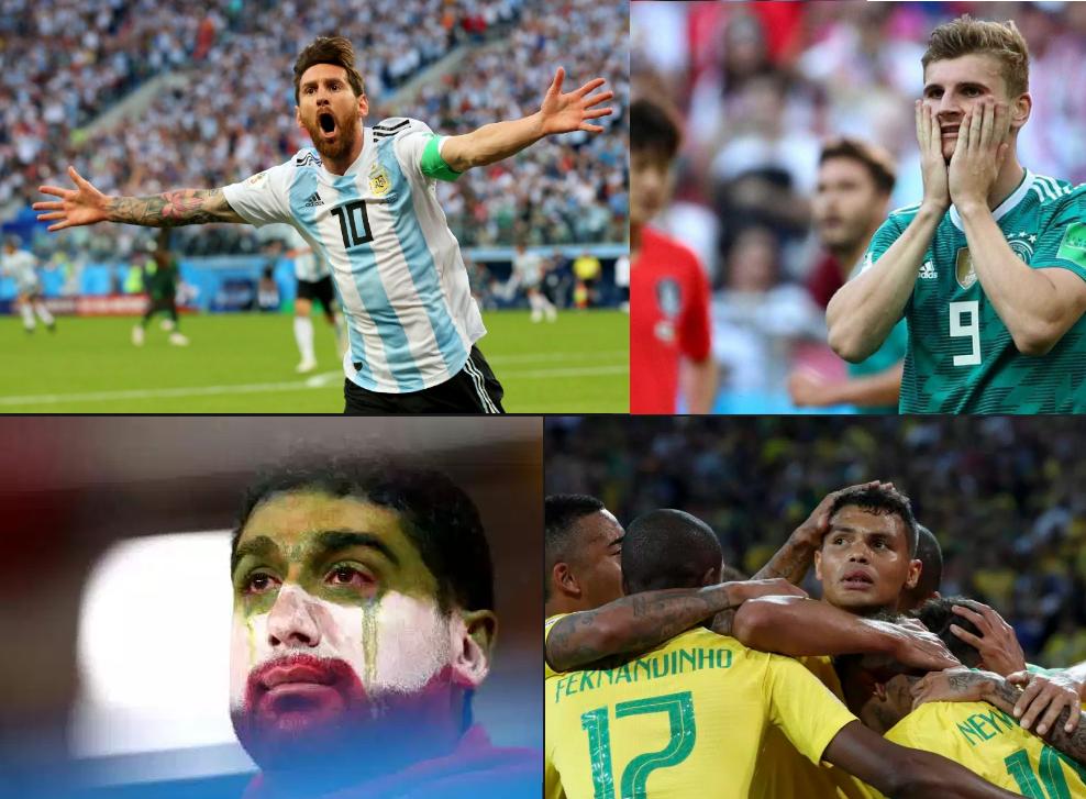Copa 2018 – Drama e alívio