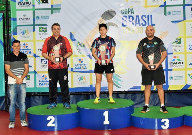 Clube de Tênis Mesa de Jacareí é vice no Troféu Eficiência