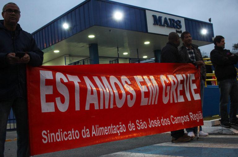 Greve por PLR na Mars Brasil entra no terceiro dia