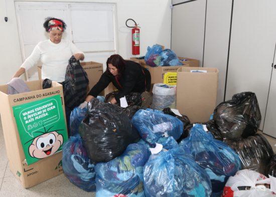 Campanha arrecada mais de 18 mil agasalhos em Jacareí