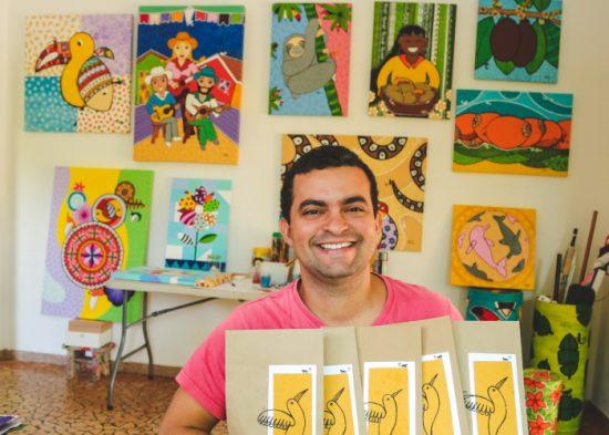 Jacareí lança exposição que celebra trajetória do artista Guataçara Monteiro