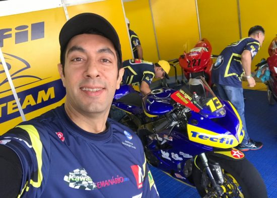 Piloto jacareiense fica em 3º lugar no Paulista de Motovelocidade