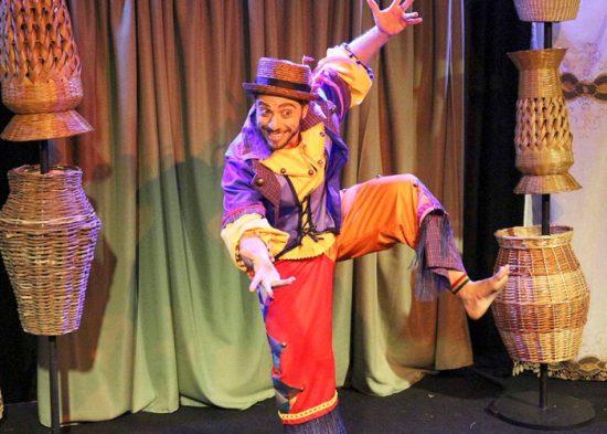Espetáculo 'O Bloco do Povo Encantado' se apresenta em Jacareí