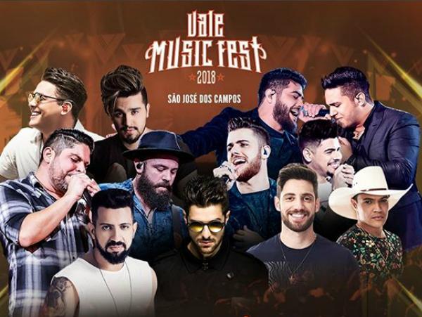 Vale Music Fest agita região a partir desta sexta-feira