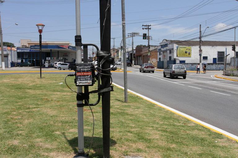 Prefeitura instala novos equipamentos para detectar pontos de congestionamento no trânsito