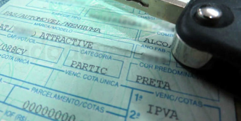 IPVA- Vence hoje pagamento com desconto de 3% para veículos com placa final 1