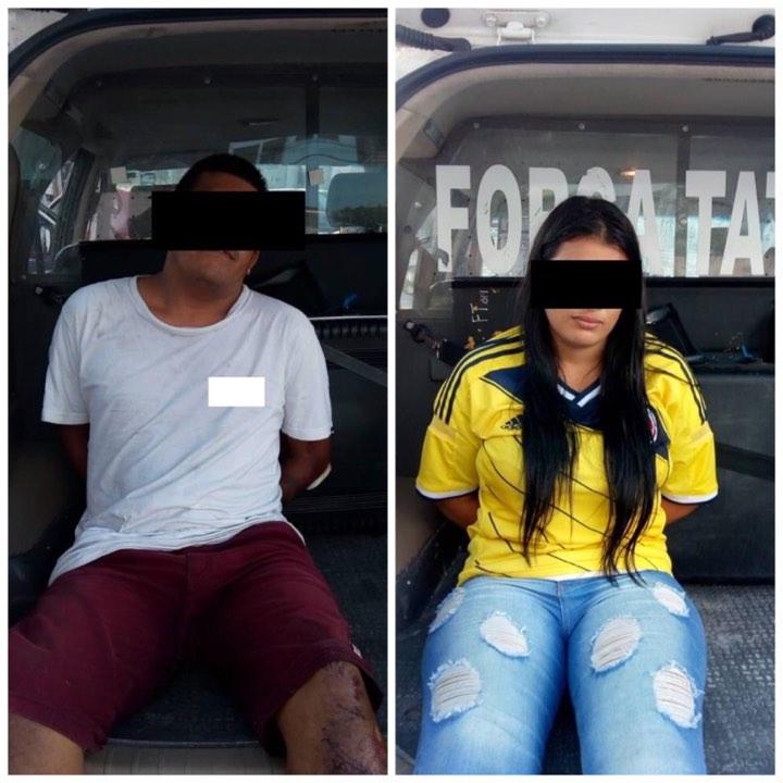 Casal de colombianos é preso por acusação de estelionato em Jacareí