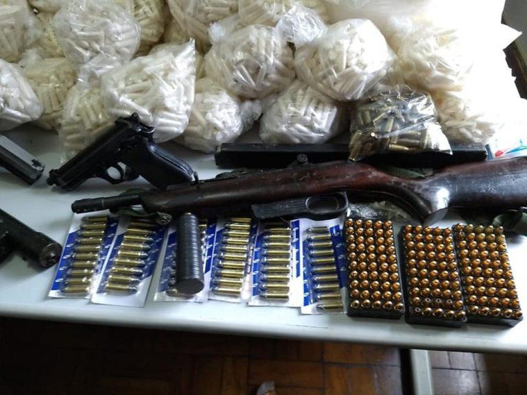 Polícia Civil apreende farto material de drogas e armas em Jacareí