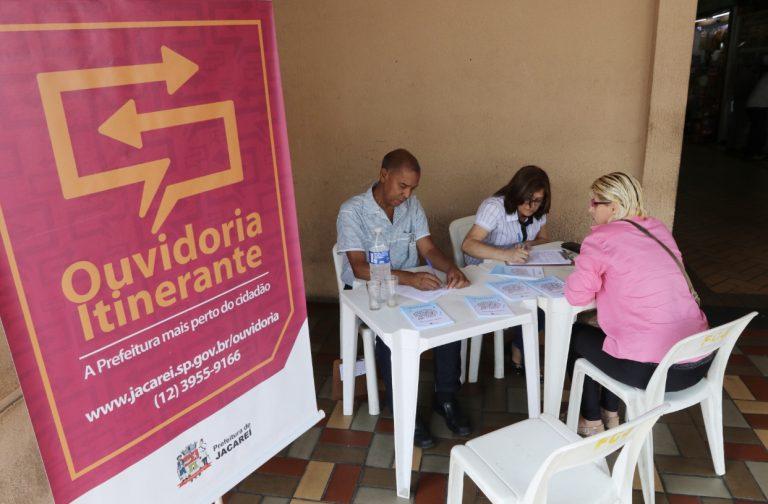 Ouvidoria Itinerante divulga agenda de maio