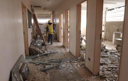 Começam obras no prédio que abrigará a Unidade de Saúde Central em Jacareí