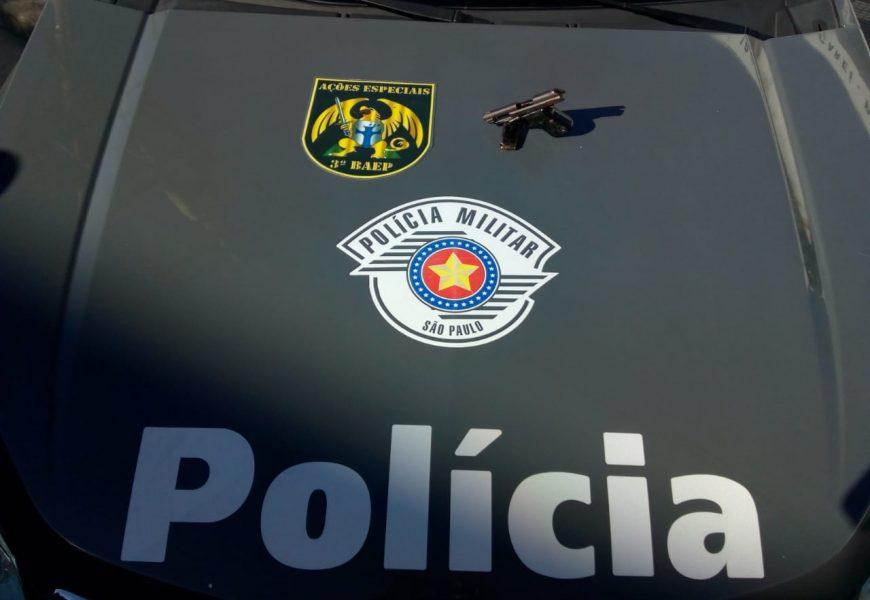 Homem é preso por porte ilegal de arma em Jacareí