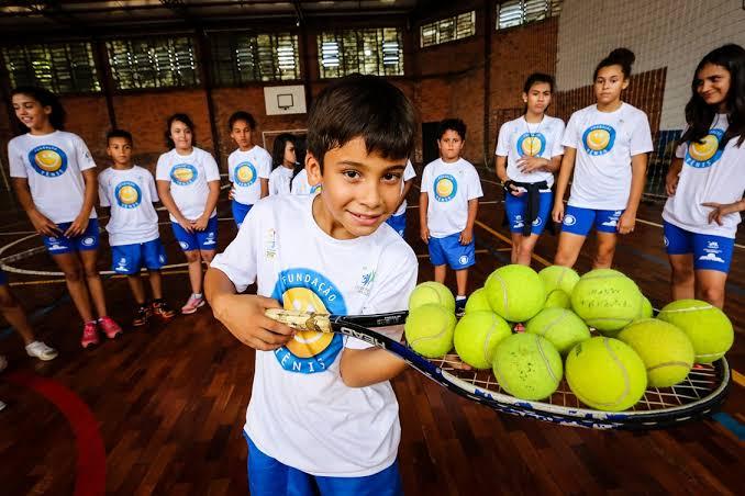 Escola Municipal de Jacareí participa de projeto Fundação Tênis
