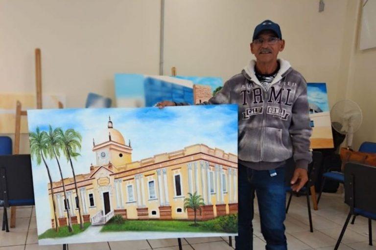 Casa do Idoso recebe exposição 'Retratando São José'