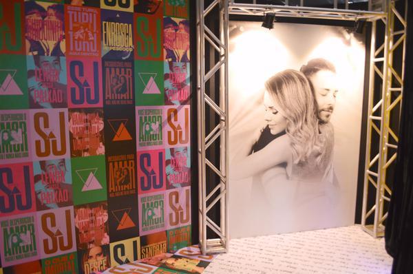 Exposição Sandy e Junior no MorumbiShopping termina neste fim de semana