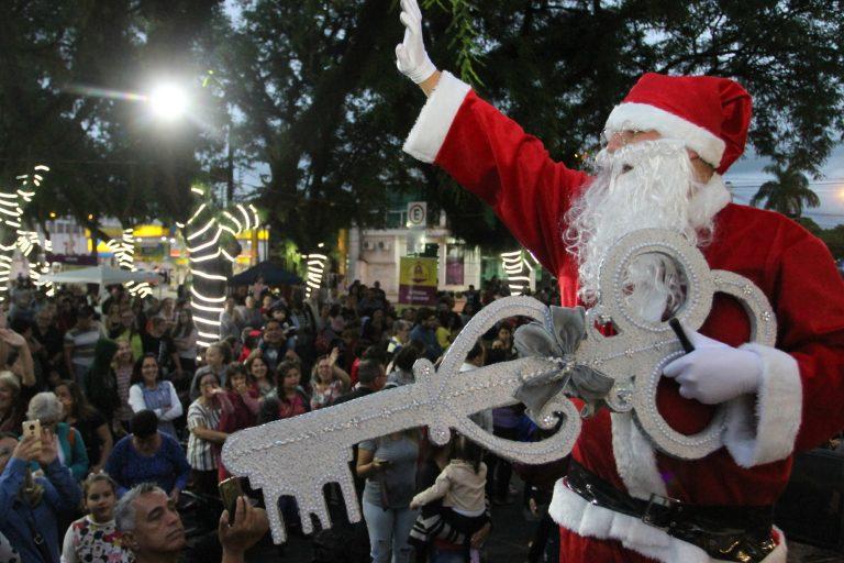 Papai Noel chega em Jacareí no dia 06 de dezembro
