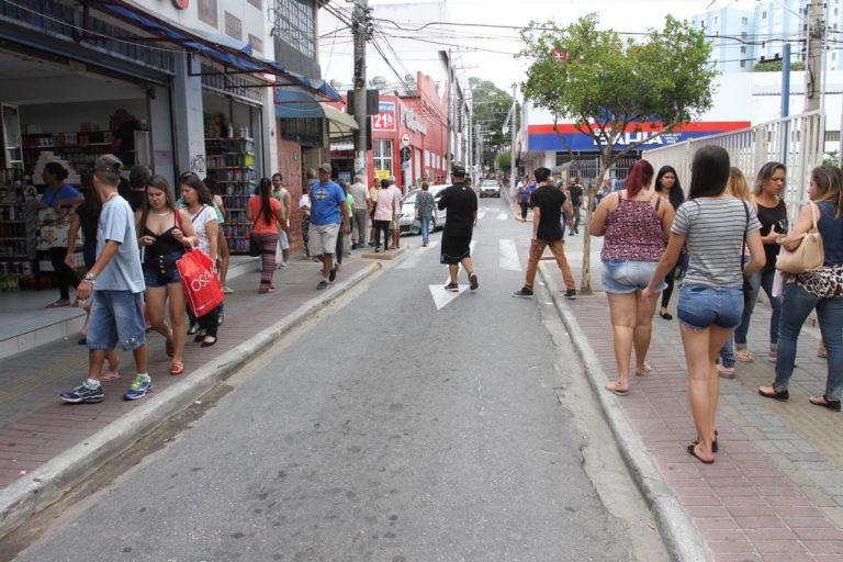 Calçadão de Compras: rua Acrísio Santana  ficará fechada entre 07 e 24 de dezembro