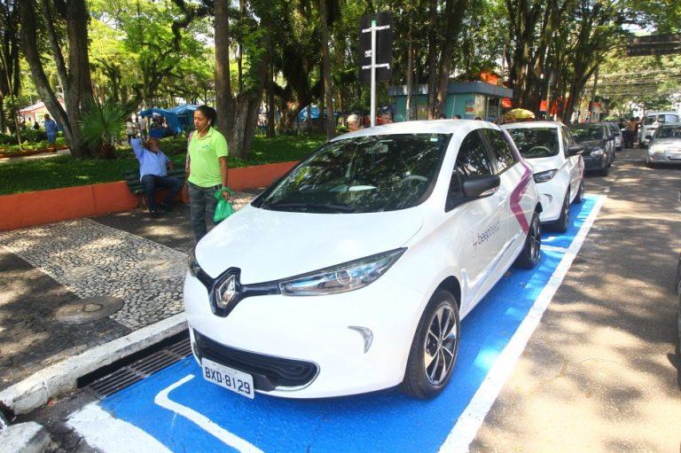 São José inicia serviço de carros elétricos compartilhados