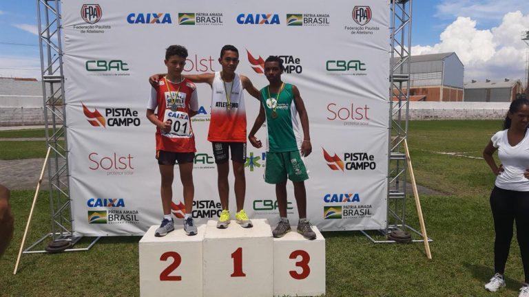Delegação jacareiense de atletismo é destaque em torneio Paulista