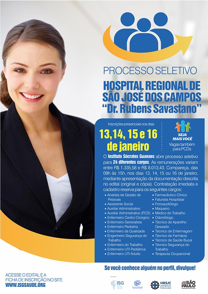 Hospital de São José tem 50 vagas de emprego