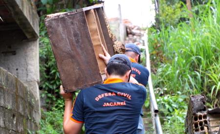 Chuvas: Defesa Civil intensifica trabalho preventivo na cidade
